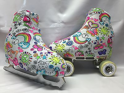 Hippy Love  Boot Covers for RollerSkates and Ice Skates  S,M,L