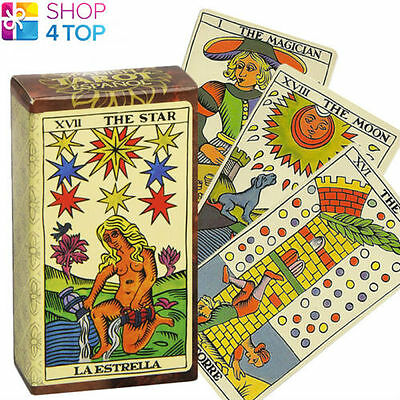 Spanish Tarot Espanol Cards Deck Esoteric Divination Oracle Telling Fournier New