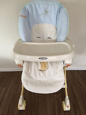 Combi Baby Infant  Daybed, Rocker, Highchair & Booster with removable tray