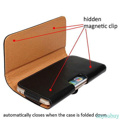 PU Leather Soft Case w/Belt Clip Holster Stand Cove for Apple iPhone 6/6S/7Plus