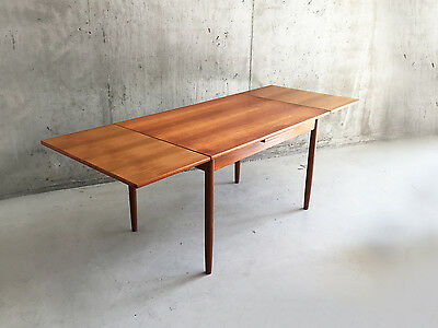 1970's  Danish A.B.J Furniture extendable dining table (damaged)