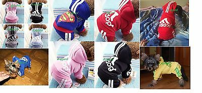 Adidog Four Legs Cute Hoodie Pet Jumpsuit Outfit For  Dogs/cats