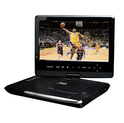 Portable 10 Inch Blu Ray DISC DVD Player Azend Group Corp BDP M1061 Maxmade