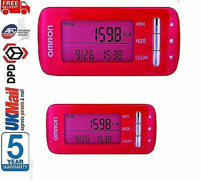 Omron CaloriScan HJA-306 Professional Weight Management Activity Monitor - Pink