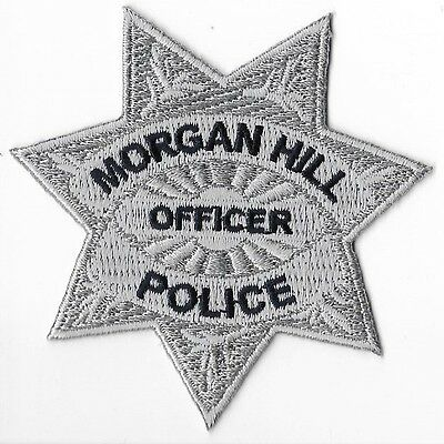 Morgan Hill Police Department, California Officer Breast Patch