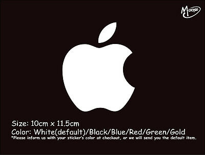 APPLE LOGO Wall Stickers  Reflective 10x11.5cm Decal IT Business Signs Best Gift