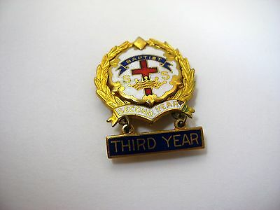 Vintage Collectible Pin: Baptist Sunday School Second Year Third Year