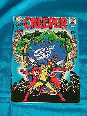 BEWARE THE CREEPER! # 4, Dec. 1968, STEVE DITKO ART, FINE / VERY FINE Condition