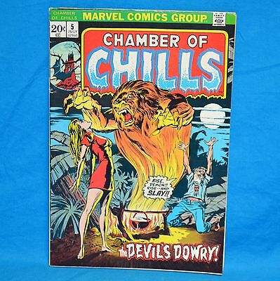 Marvel Comics Group Chamber of Chills #5 July 1973 The Devil's Dowry