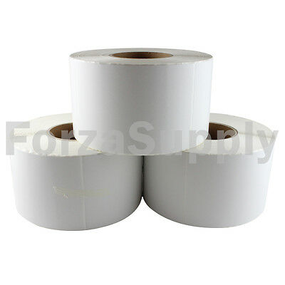"25000 4x6 ""EcoSwift"" Direct Thermal Labels Eltron Zebra - 3"" Core 1000 per roll"
