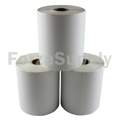 "3 Rolls 4x6 ""EcoSwift"" Direct Thermal Labels 250 per roll Eltron Zebra 2844 450"