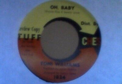 Toni Williams  Oh, Baby  Tuff Review Copy  Ex