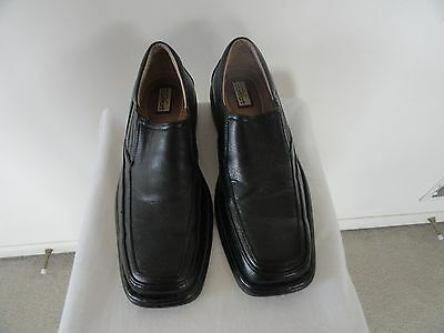 Mens/Boys Size 8M Strictly Comfort Black Slip-On/Loafers Shoes Dress or Casual