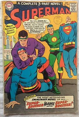 Superman #200 (1967 DC 1st series) VG+ condition 49 yrs old Silver Age