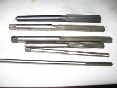 Small reamers lot of 6