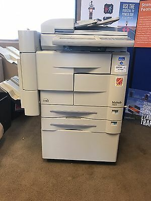 Used Bishub 7222 Copier/Scanner