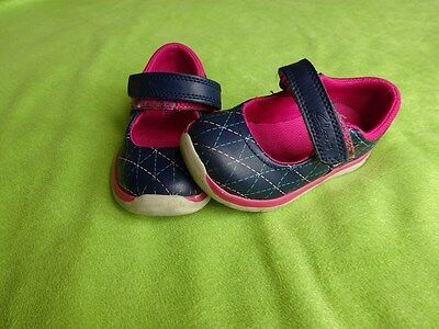 Clarks Baby Girls Toddler Navy Size - 5.5 F
