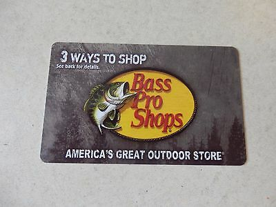 Bass Pro Shops Gift Card $40.00 Value - Free Shipping