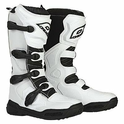 2017 ONeal ELEMENT Off Road MotoCROSS Boot WHITE Size 9 FREE SHIP! Make Offer!