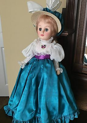 """Effanbee 15"""" Vintage Grand Dames Doll """"Allison""""  #1556 from 1983 Made In USA"""