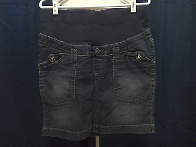 Oh Baby by MOTHERHOOD Maternity Jean Skirt - size M