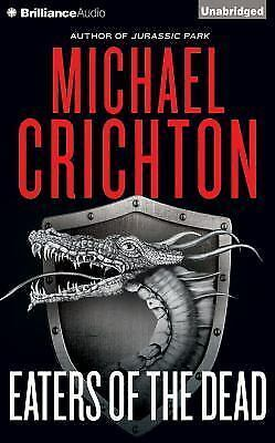 EATERS OF THE DEAD unabridged audio book on CD by MICHAEL CRICHTON - Brand New!