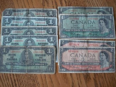 $51.00 Canadian Currency Money Lot (Face Value)