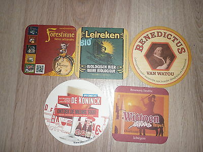 lot de 5SB de BELGIQUE lot 33