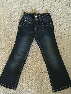 Justice Girls Boot Cut Jeans Size 10 Regular