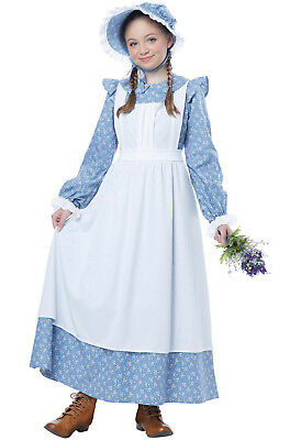 Colonial Pioneer Girl Outfit Child Costume