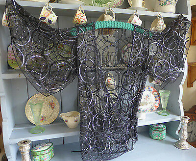 Beautiful TOPSHOP Vintage Gatsby Inspired Beaded Top Uk 10