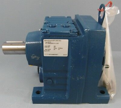 """Sew-Eurodrive Gearbox Reducer: R47/A, Input 1750, Output 120, Ratio 14.56 1-1/4"""""""