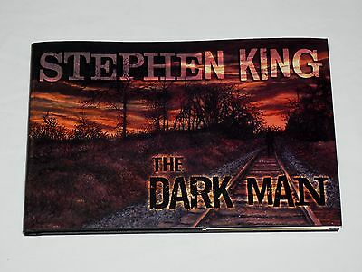 The Dark Man An Illustrated Poem by Stephen King 2013 First Edition Hardcover