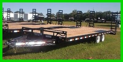 2017 Load Trail 20' Deck Over Equipment w/ Stand-up Ramps New