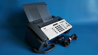 HP Fax 640 InkJet Monochrome Fax / Copier CB782-64001 - With Power & Phone Cords
