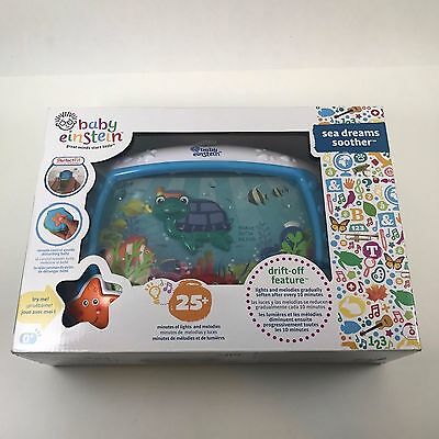 Baby Einstein Sea Dreams Soother Baby Infant Crib Toy Music Sleep Aid Mobile