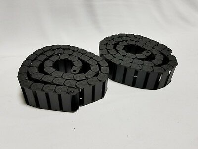 Lot of 2 IGUS Energy Chain Cable Carrier 06.40.028 - 3FT