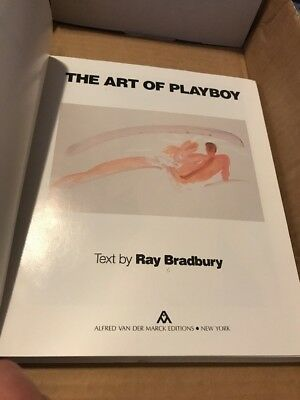 Ray Bradbury-The art of Playboy 1985 1st edition Hardcover