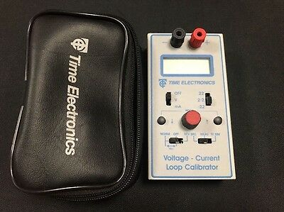 Time Electronics 1048 Voltage / Current Loop Calibrator 0-22V 0-22mA Source Meas