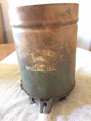 Antique John Deere Planter Seed Box Moline, Ill