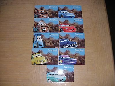 Disney  9 different new collectible gift cards