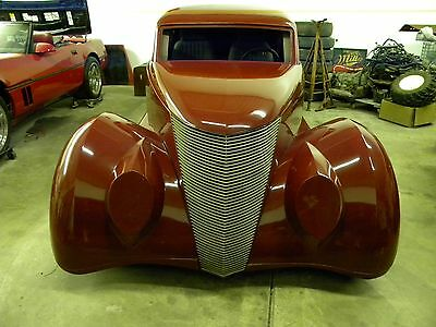 1937 Replica/Kit Makes Wild Rides Ford  1937 Wild Rides Ford Coupe.Hot Rod.Custom coupe.Project car.37 Ford.Fiberglass.