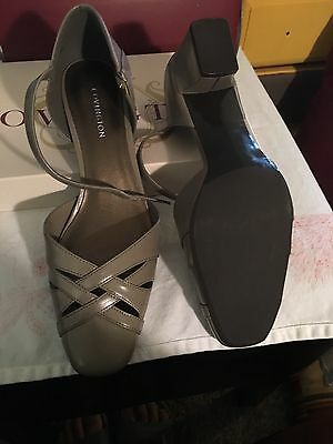 Shoes! New Covington Taupe Colored Strap heels.  Size 7.5M.