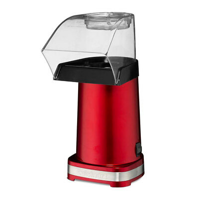 Cuisinart CPM-100RA Red Electric Popcorn Maker/Hot Air Popper Snack Machine