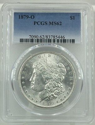 1979-O Morgan Silver Dollar Pcgs Ms62
