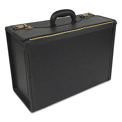 bugatti Deluxe Carrying Case for Document - Black - STB251322BLK
