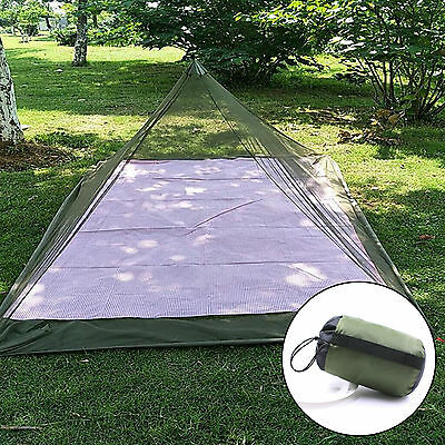 Camping Travel Tent Bed Single Foldable Outdoor Mosquito Net Accessories CQ1650