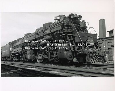 Northern Pacific Railroad Lot of 7 Photographs 8X10 Black & White Steam & Diesel
