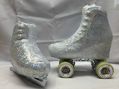 Holo Scales Boot Covers for RollerSkates and Ice Skates  S,M,L