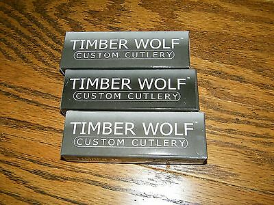 Lot of 3 Timber Wolf TW21 Pocket Knife Knives